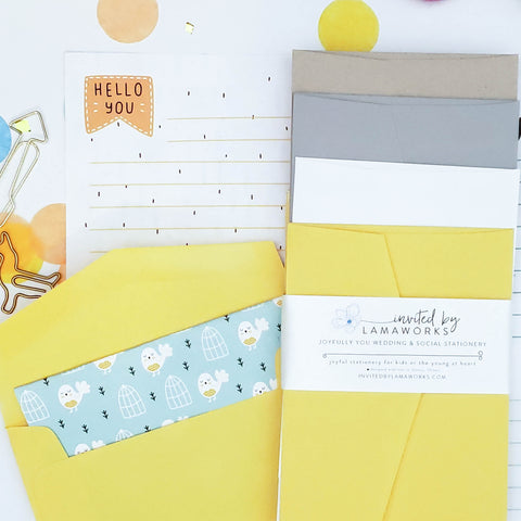 The Gratitude Collection - Kids Stationery | Scandinavian #1