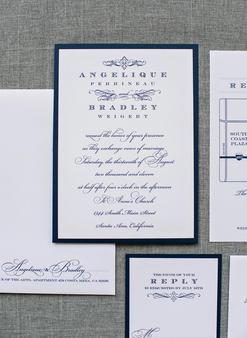 Angelique and Bradley - Pocket Card