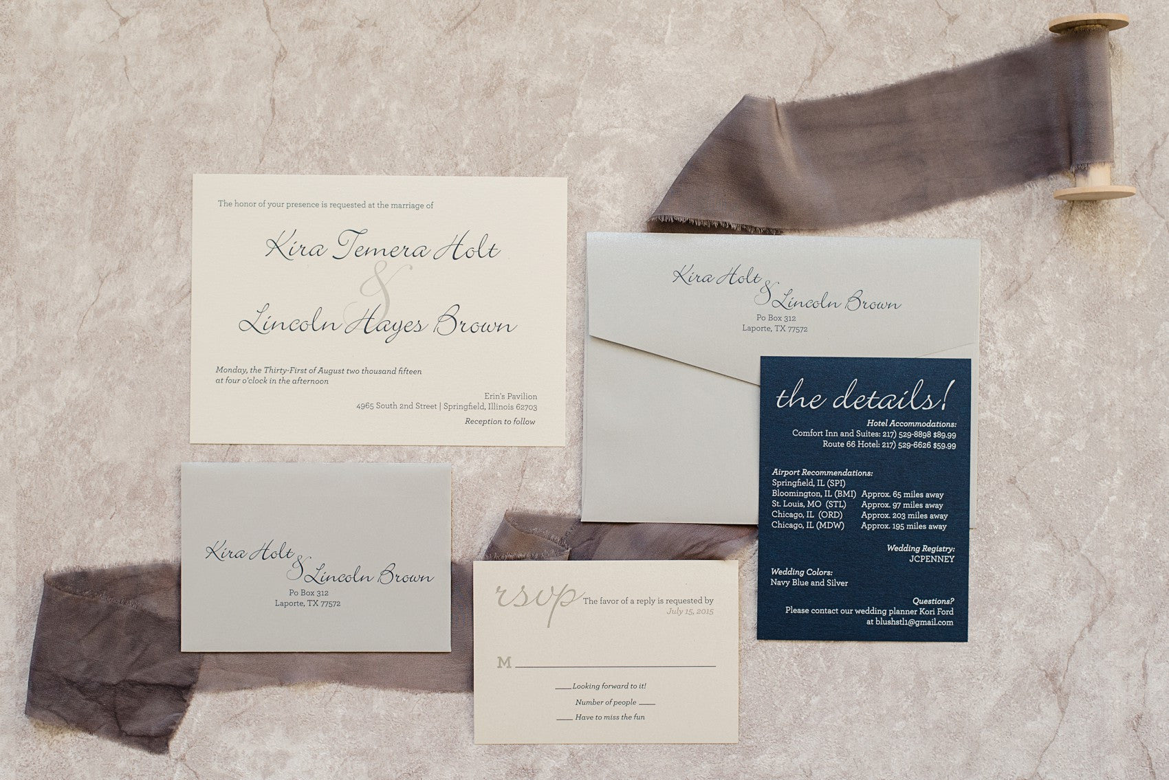 Kira & Lincoln – Invited by LamaWorks