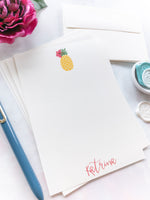 Cute Pineapple Letter Writing Set