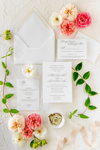 Traditional and Formal Wedding Invitation Suite | Mikah