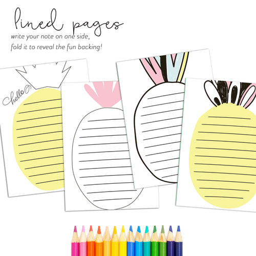 The Gratitude Collection - Kids Stationery | Pineapple
