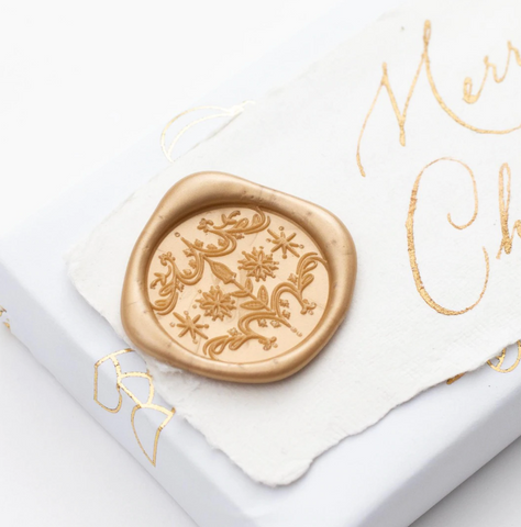 Holiday Ornament Wax Seals