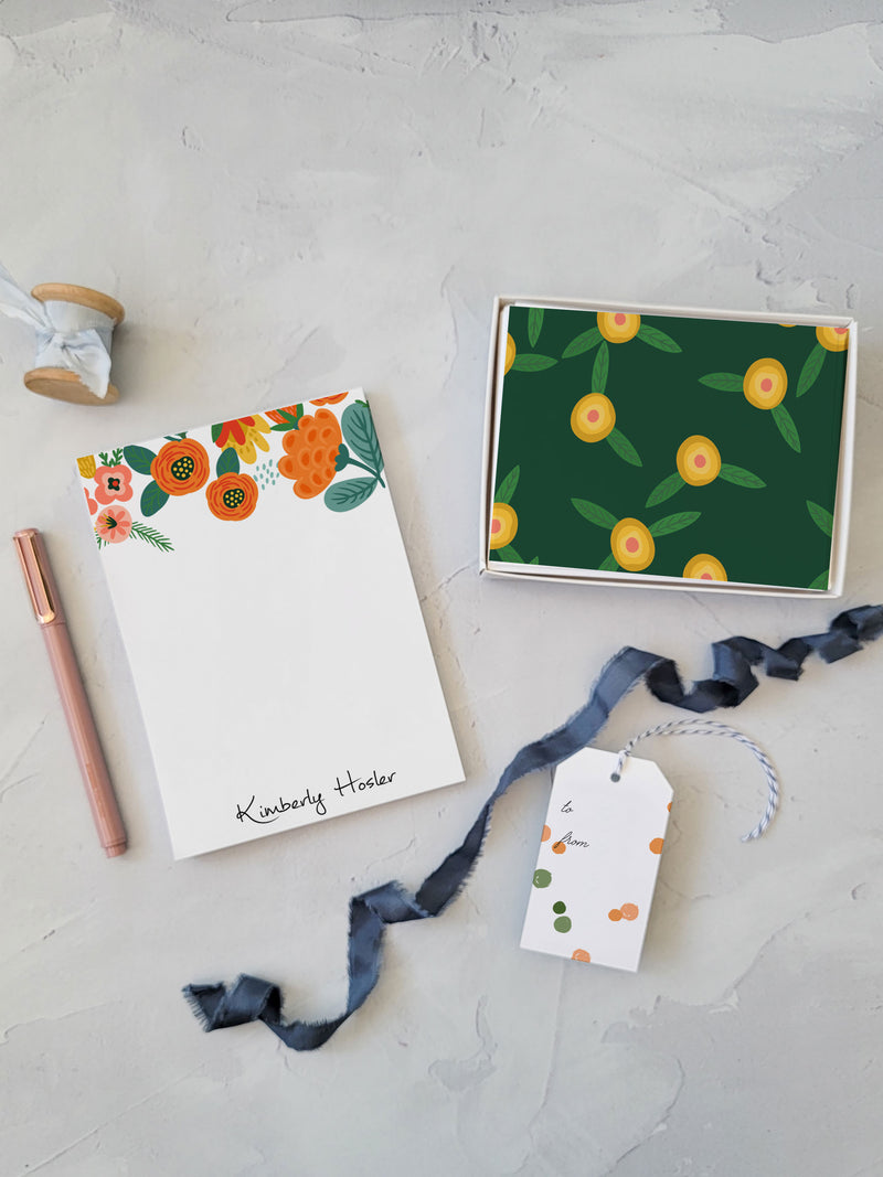 Daisy Scribble Notepad