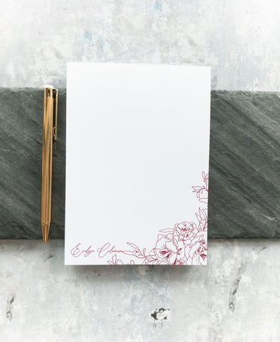 Floral Notepad - Letters of Hope 1