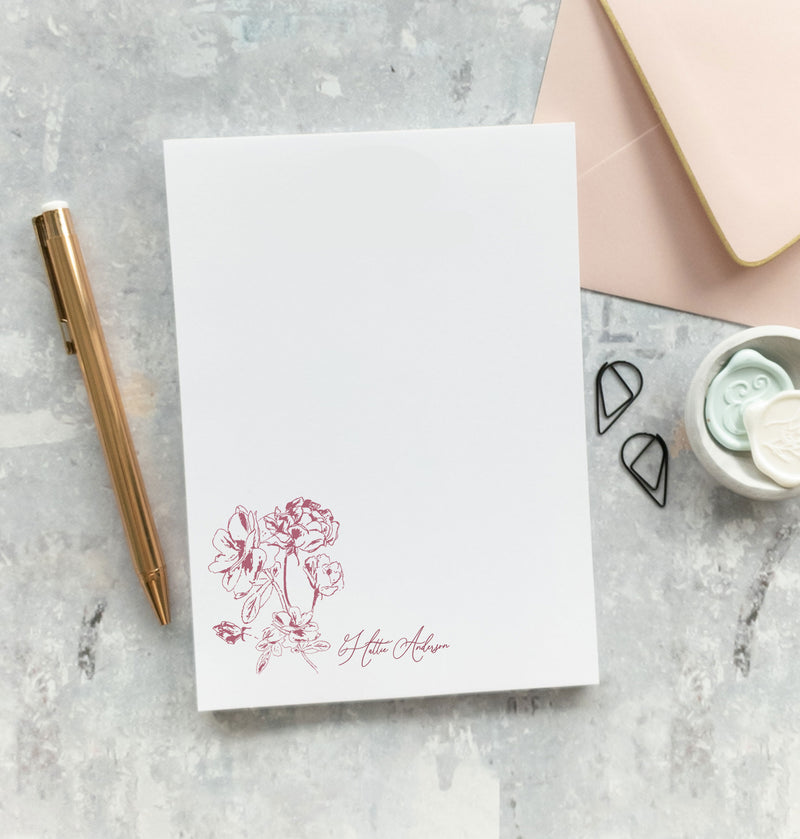 Floral Notepad - Letters of Hope 3