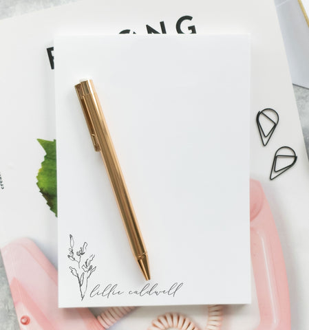 Organic Branch Notepad