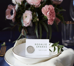 Luxury Wax Seal Place Cards -  Sarah