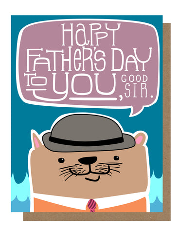 Father's Day Otter