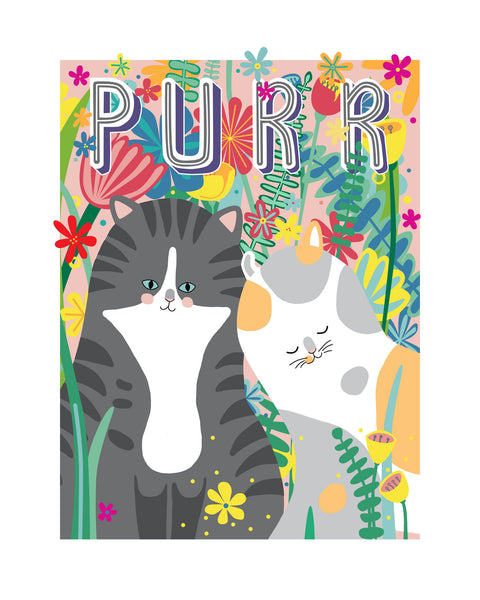 Purr Poster