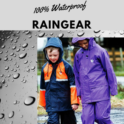 Kids 100% Waterproof Raincoats