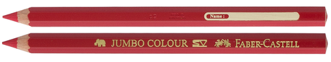 Faber-Castell Jumbo Colour Pencils with Namespace