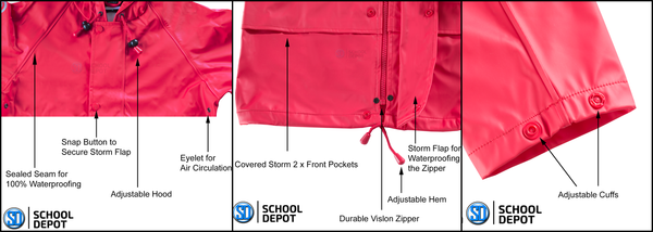 FlexBak Kids Raincoat Features and Quality