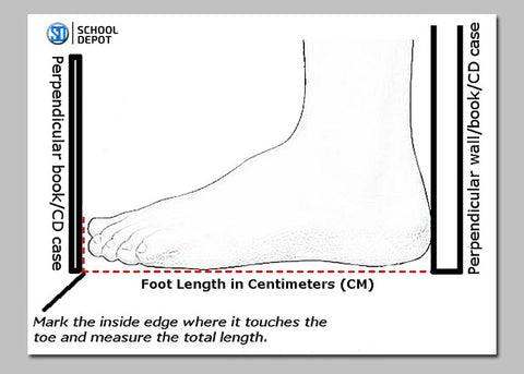 How to measure foot correctly?