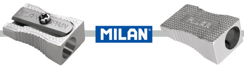 Milan Single Hole Pencil Sharpener Metal