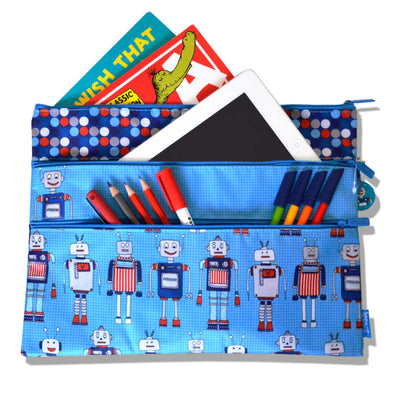 Spencil Pencil Case A4 - 3 Pocket - School Depot NZ  - 6