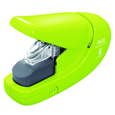 Plus Staple-Free Stapler Green