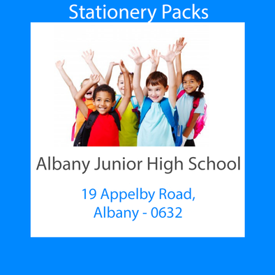 Albany Junior High School Stationery Pack 2020 Year 7