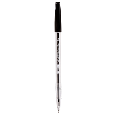 Artline Smoove Ballpoint Pen Medium Black