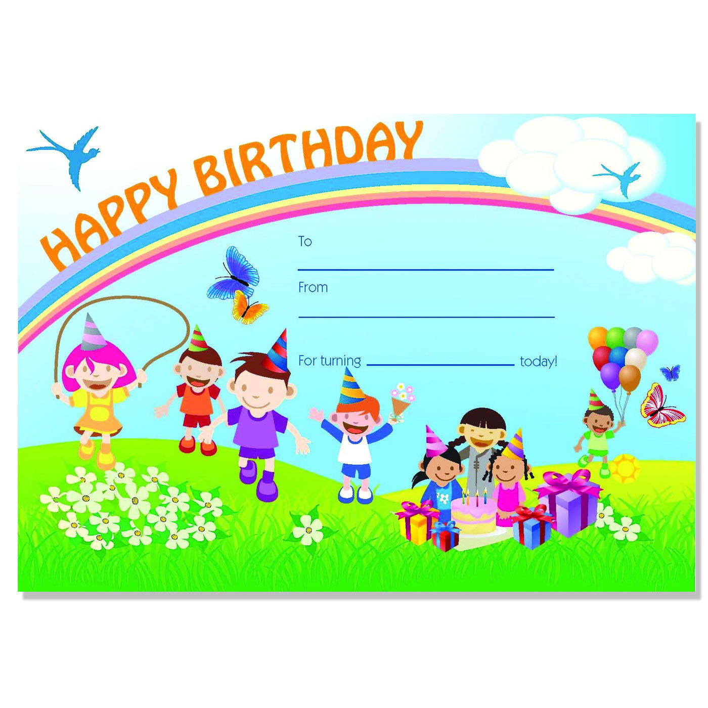 avery certificate happy birthday pack of 36 school depot nz