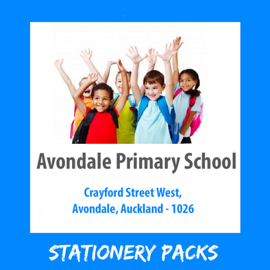 Avondale Primary School Stationery Pack 2021 TUI-1 [Year 0 and 1]