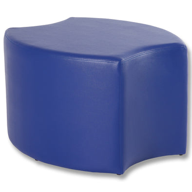 BFX Stool Bloom Ottoman Blue - School Depot NZ