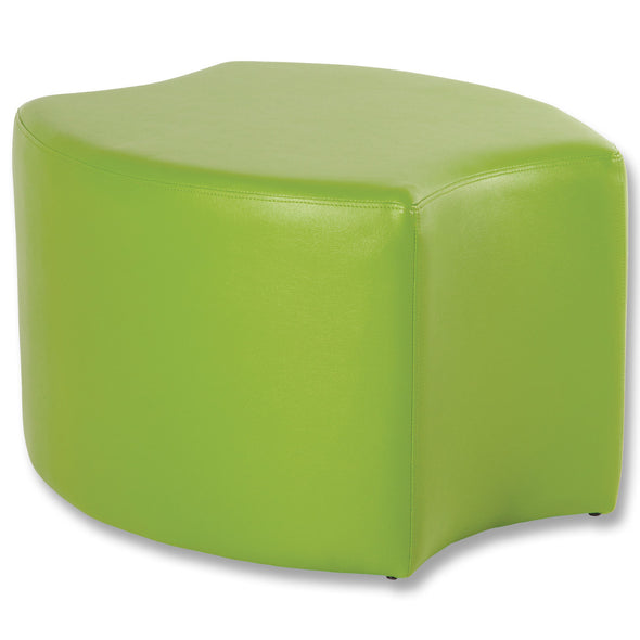 BFX Stool Bloom Ottoman Green - School Depot NZ