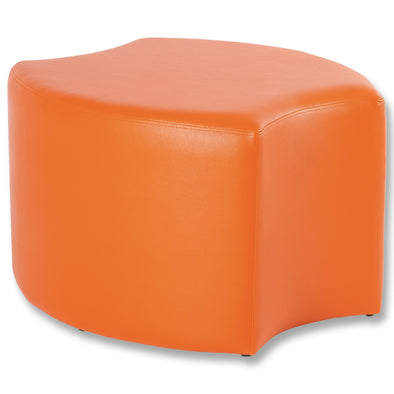 BFX Stool Bloom Ottoman Orange - School Depot NZ