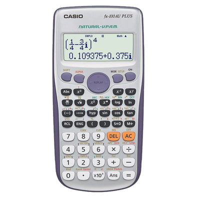 Casio Scientific Calculator FX100AU PLUS - School Depot