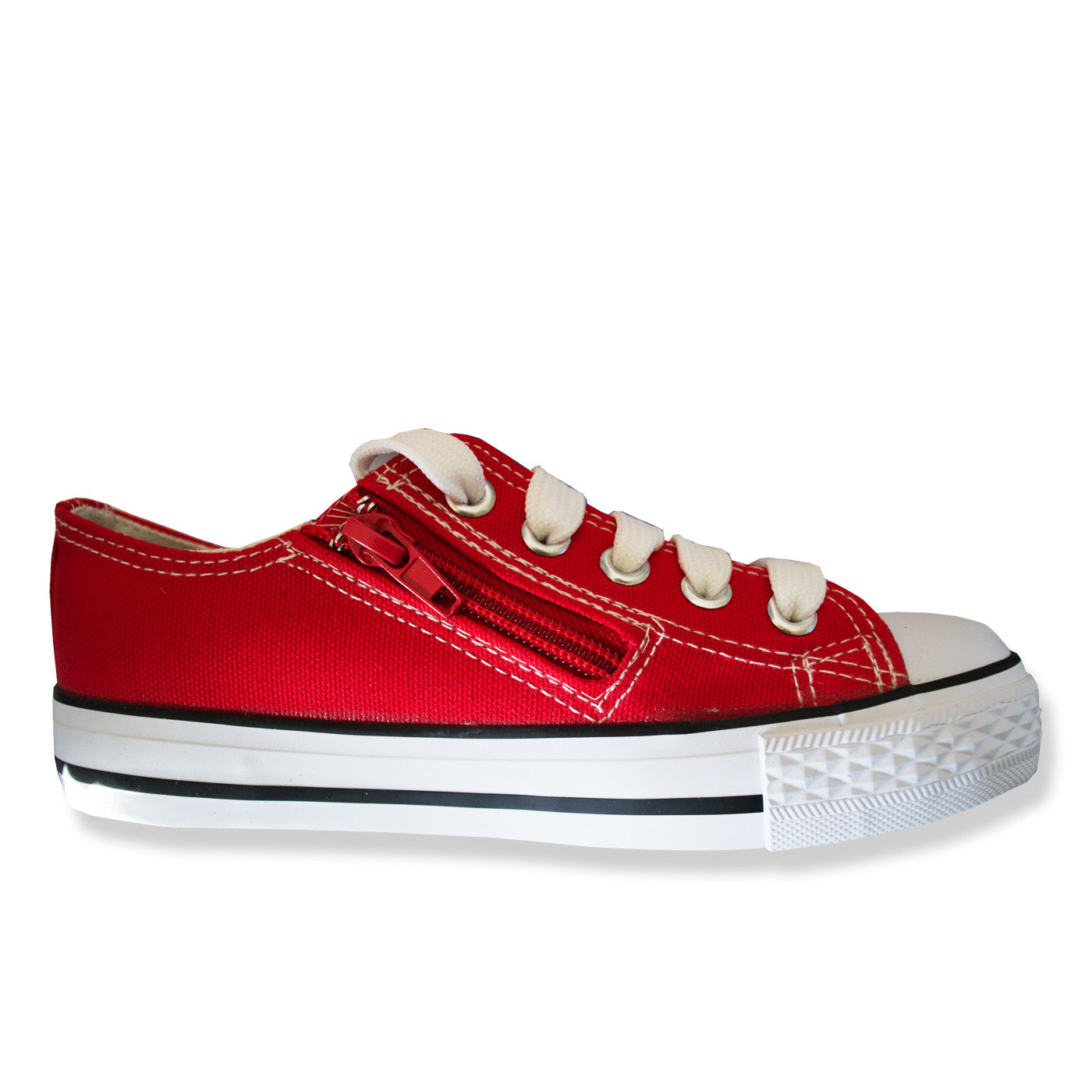Classic Kids Canvas Shoes Red – School