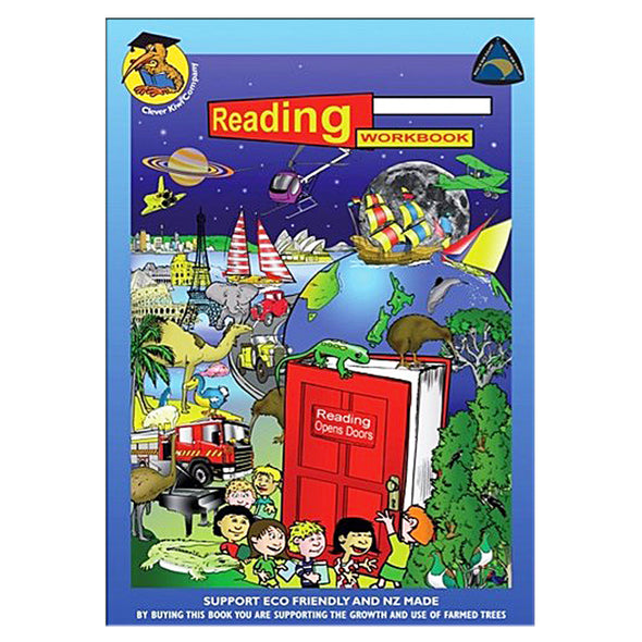 Clever Kiwi Reading Workbook - School Depot NZ