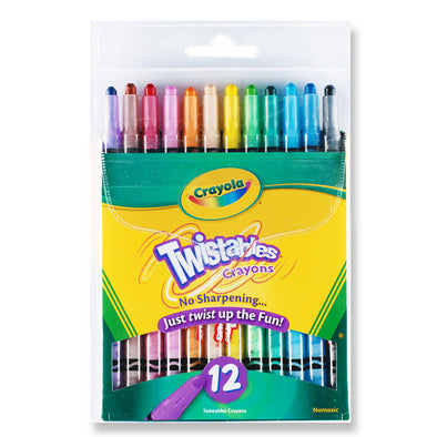 Crayola 12 Twistables Crayons - School Depot NZ
