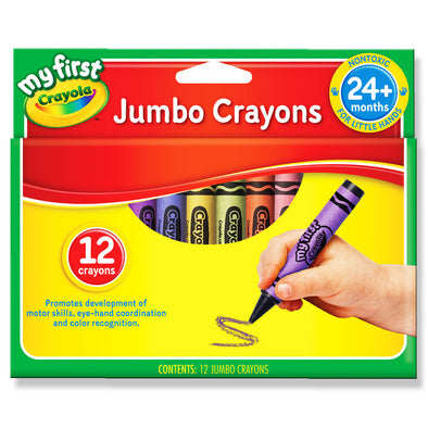 Crayola My First Jumbo Crayons 12 Shades - School Depot NZ