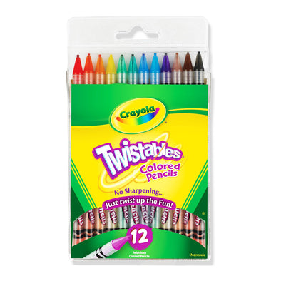 Crayola Twistables Coloured Pencils 12 Pack