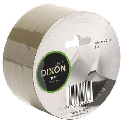 Dixon Packaging Tape Tan 48 mm x 50 metre