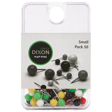Dixon Map Pins Small Pack of 50 - School Depot NZ