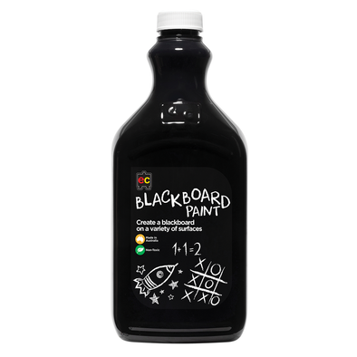 EC Blackboard Paint 2L Black