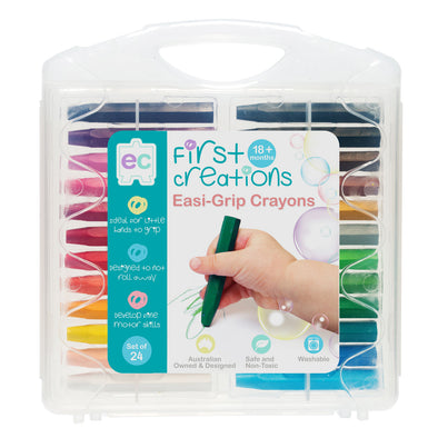 EC Easi-Grip Crayons Set of 24
