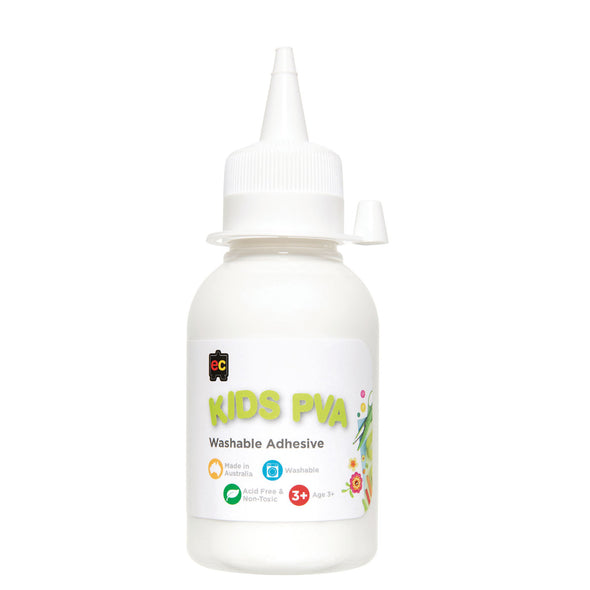 EC PVA Glue Washable 125 ml