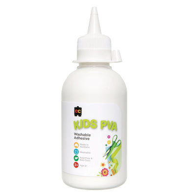 EC PVA Glue Washable 250 ml