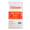 Esselte Resealable Polybags 75 x 100 mm Pack of 50