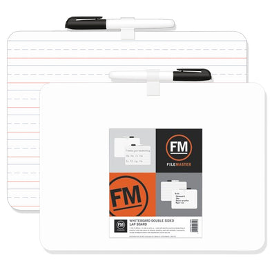 FM Double Sided Lapboard Non-Magnetic 226x300mm - School Depot