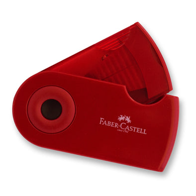 Faber-Castell Pencil Sharpener Double Hole with Sleeve