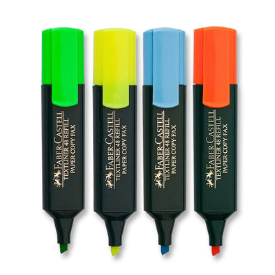 Faber-Castell Highlighter Textliner 4 Assorted colours
