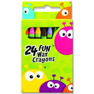 Copy of Fun Wax Crayons 16 Pack - School Depot NZ
