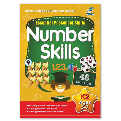 Greenhill Number Skills Activity Book 5-7 Years