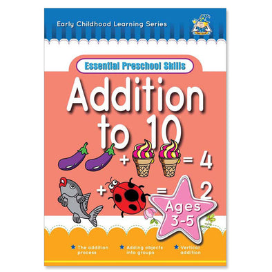 Greenhill Addition to 10 Activity Book 3-5 Years