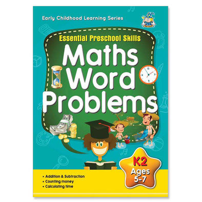 Greenhill Math Word Problems Activity Book 5-7 Years