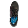 Grosby Leather Shoes Black Lace Up Educate SNR 2 [Size 7-12 UK]