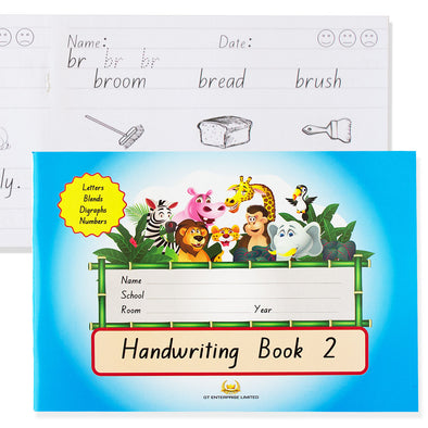 Handwriting Book 2 Blue GT Enterprise